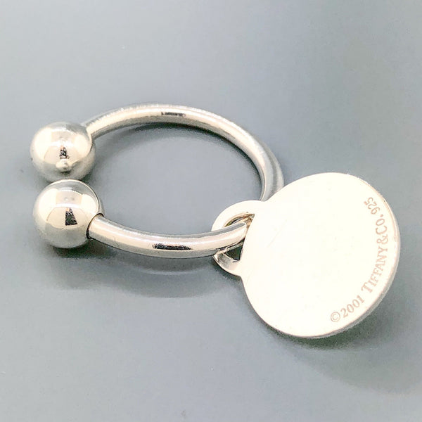 Estate Tiffany & Co. Sterling Silver Key Ring - Walter Bauman Jewelers