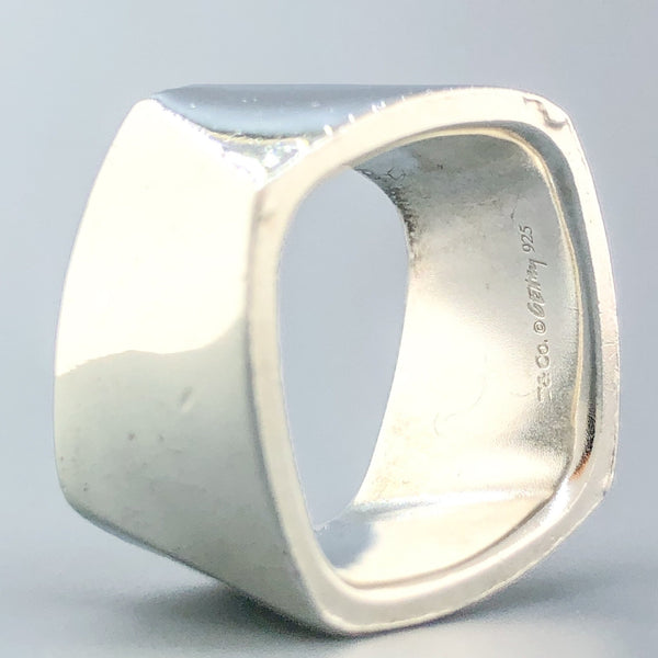 Estate Tiffany & Co. Sterling Silver Torque Ring - Walter Bauman Jewelers