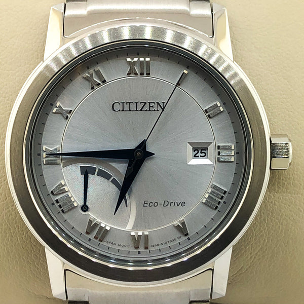 Citizen Eco-Drive Stainless Steel Mens Watch - AW7020-51A