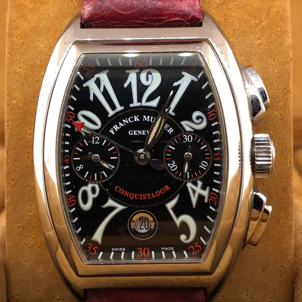 Estate Franck Muller Geneve Conquistador Master Of Complications Limited Edition Chronograph Watch