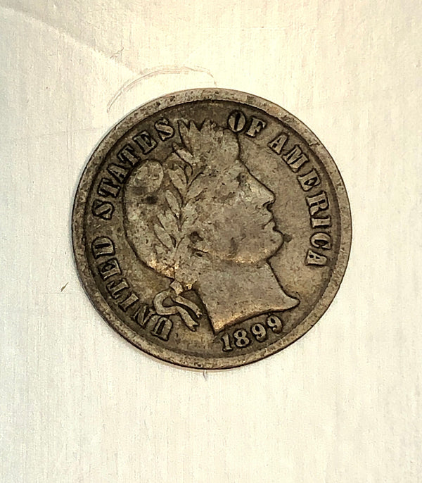 Estate 1899 USA Dime