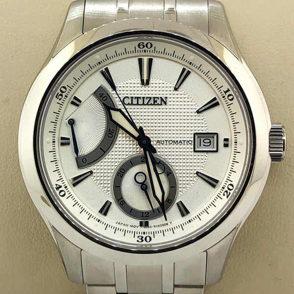 Citizen Men's Signature Grand Classic Automatic Silver Watch
