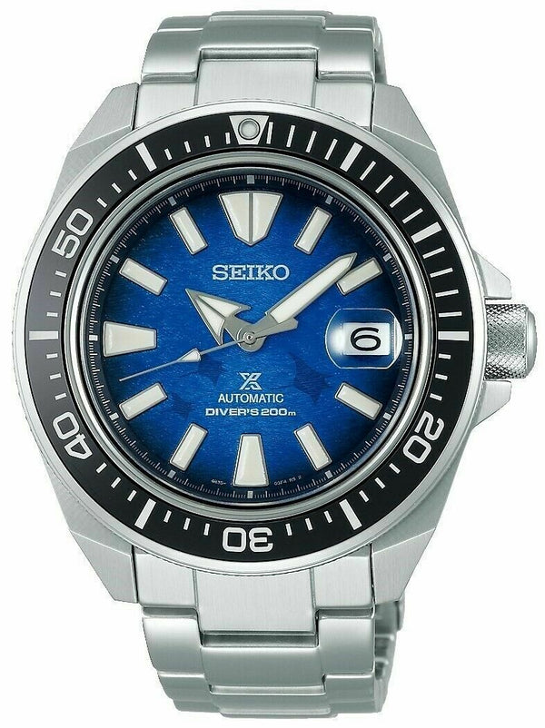 Men's Seiko Automatic Prospex Samurai Manta Ray Dial Divers Men's Watch SRPE33 - Walter Bauman Jewelers