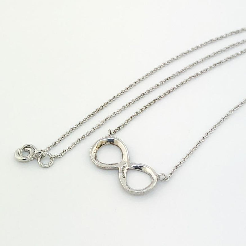 Sterling silver infinity necklace - Walter Bauman Jewelers