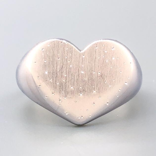 Sterling Silver Starburst Heart Ring - Walter Bauman Jewelers