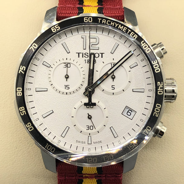 Tissot Men's Quickster Chronograph Quartz Miami Heat Watch - Walter Bauman Jewelers