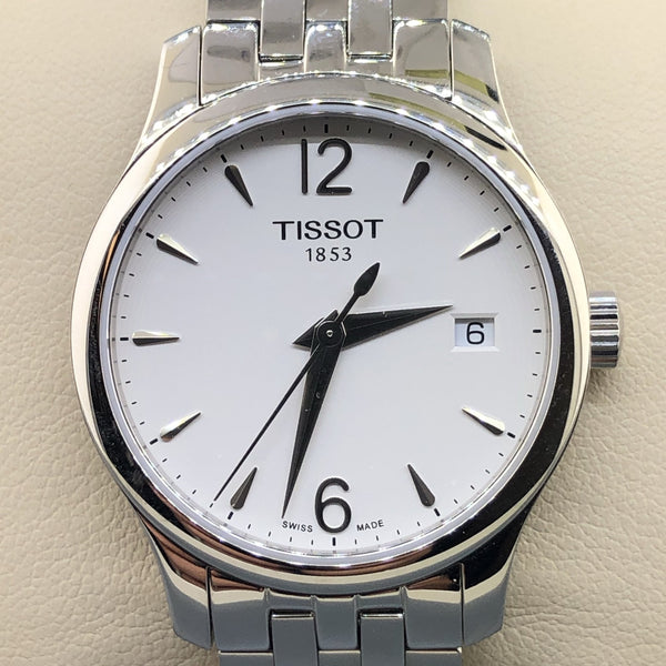 Tissot Women's Tradition Date Quartz Watch - Walter Bauman Jewelers