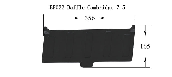 BF022 - Cambridge 7.5 - Baffle