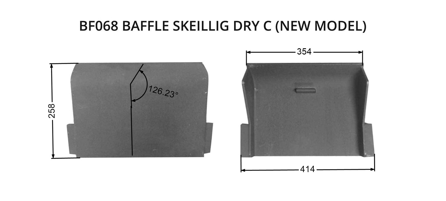 BF068 BAFFLE SKELLIG DRY C (new model)