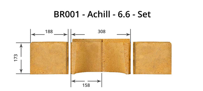 Achill 6.6 - Full Brick Set