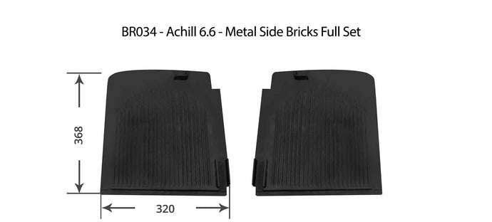 Achill 6.6 - Metal Side Bricks/Plates Full Set