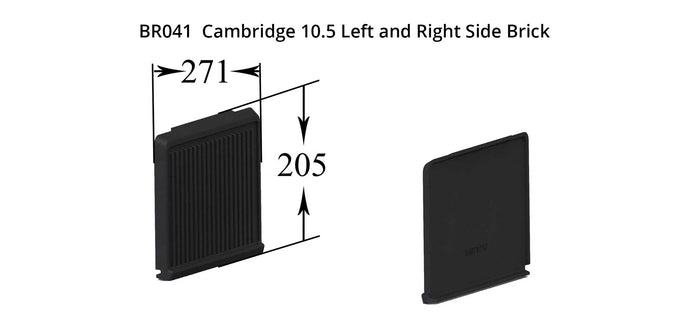 BR041 - Cambridge 10.5 Left and Right Side Brick
