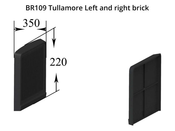 BR109 Left and Right Brick