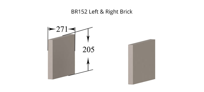 BR152 - Eden  - Left and Right Brick