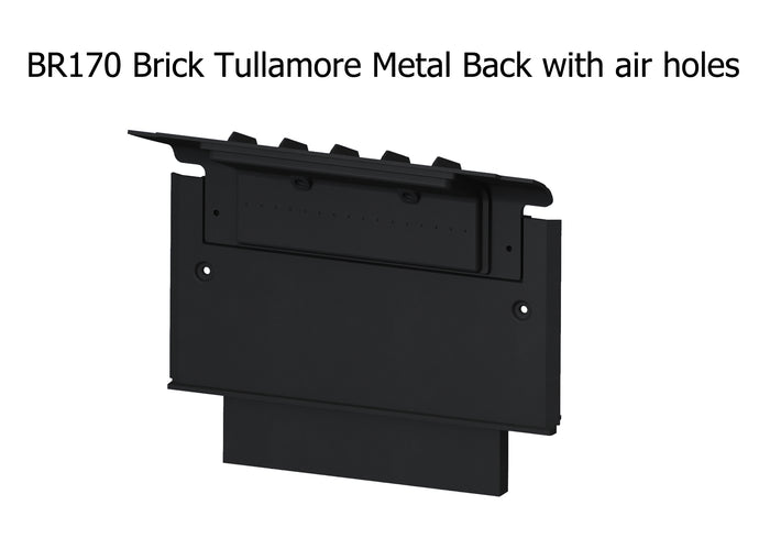 BR170 Brick Tullamore Metal Back with air holes