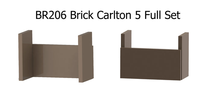 BR206 Brick Carlton 5 Full Set