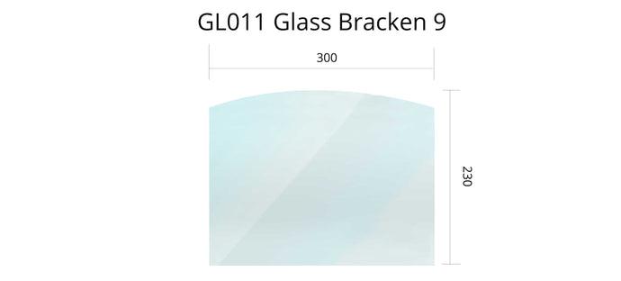 GL016 - Bracken 9 - Glass
