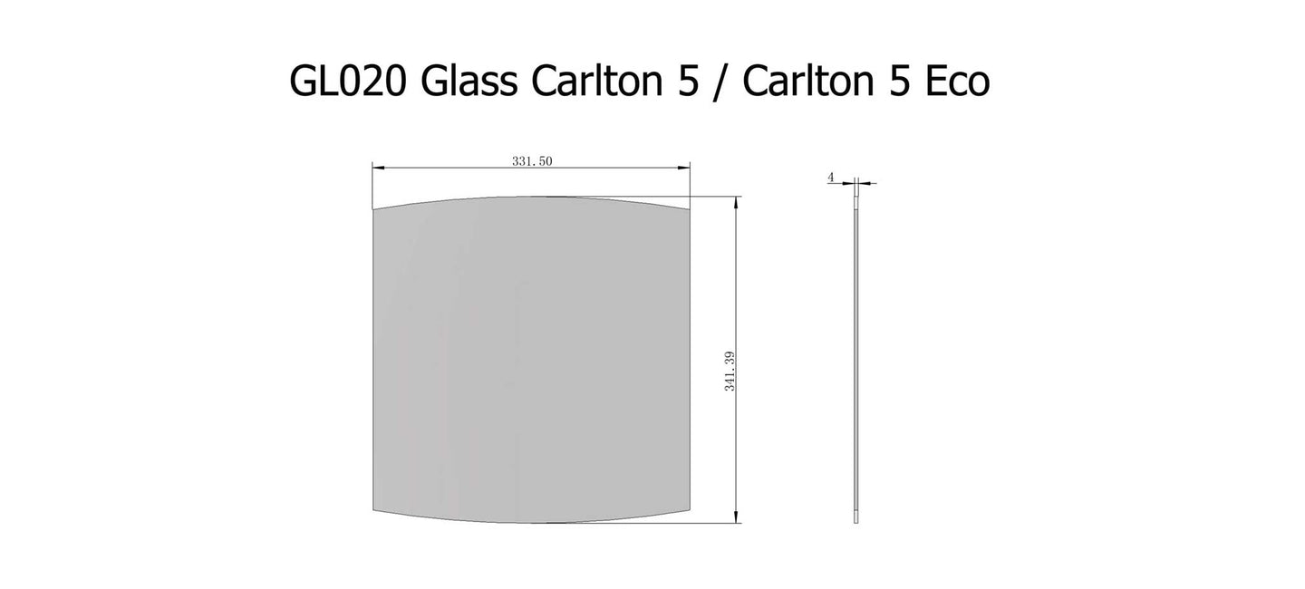 GL020 Glass Carlton 5
