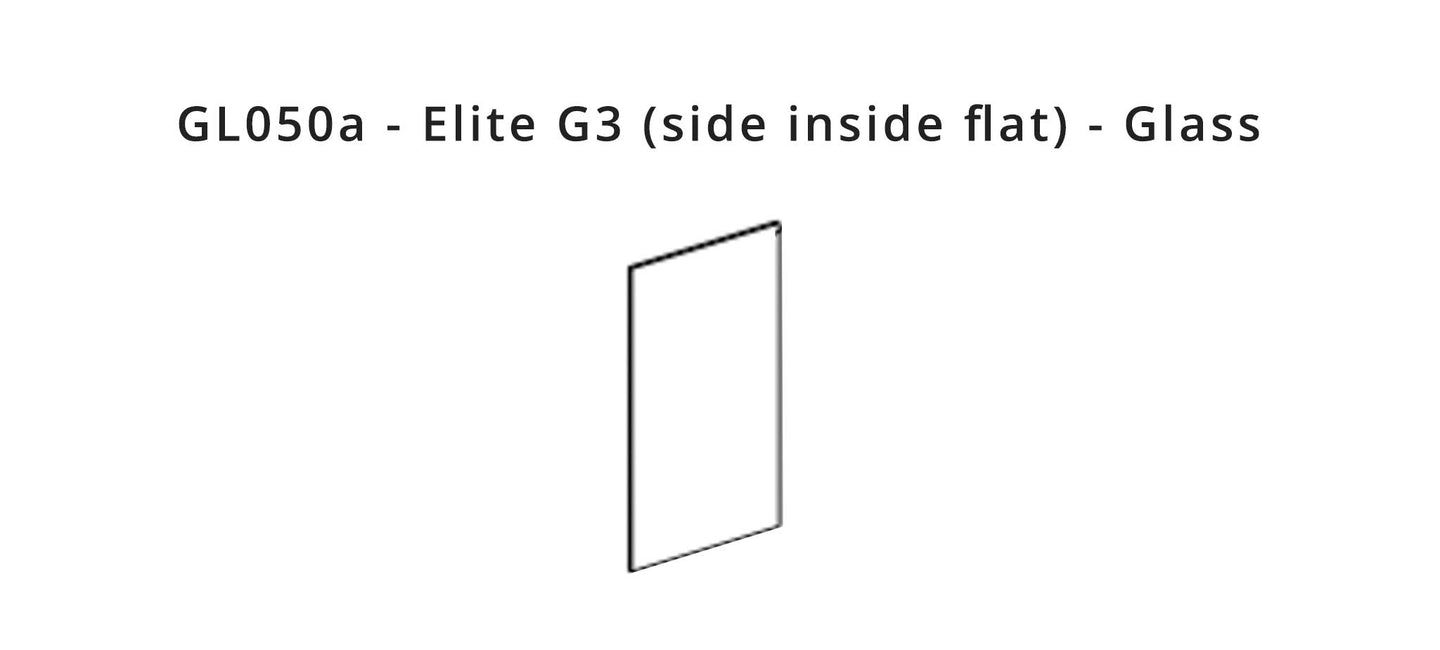 GL050a - Elite G3 (side inside flat) - Glass