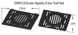 GR013 Grate Apollo 5 kw  Full Set