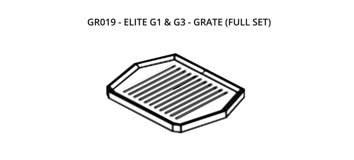 GR019 - Elite G1 & G3 - Grate (Full Set)