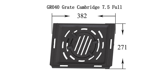 GR040 - Cambridge 7.5 - Grate (Full set)