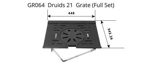 GR064 - Druids 21 - Grate (Full Set)