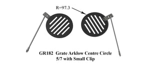 GR182 - Grate Arklow Center Circle 5/7 with Small Clip