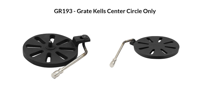 GR193 - Grate Kells Center Circle Only