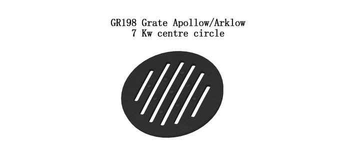 GR198 - Grate ApollowArklow 7 Kw centre circle