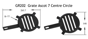 GR202 - Grate Ascot 7 Centre Circle