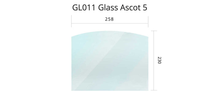 GL011 - Ascot 5 - Glass