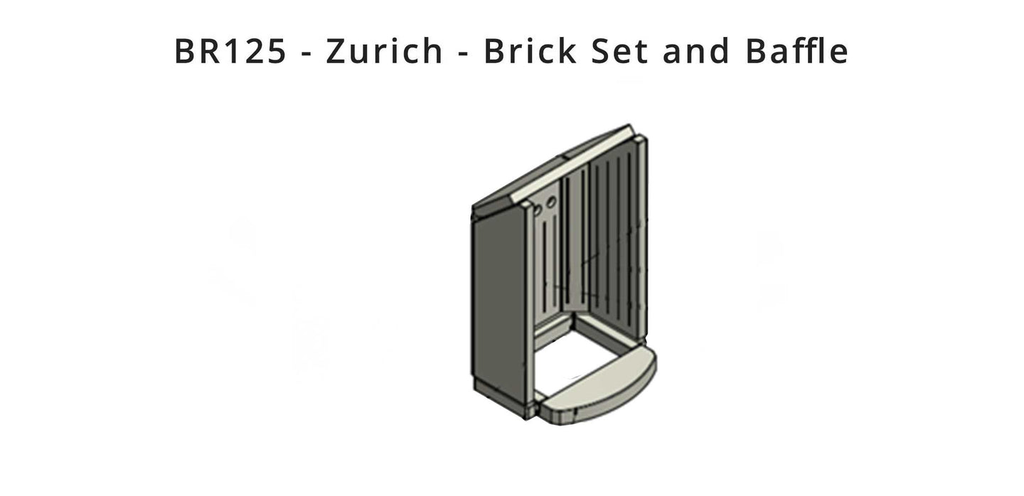 BR125 - Zurich  - Brick Set and Baffle