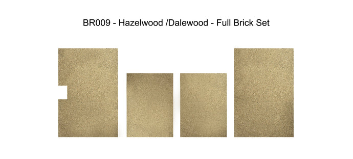 BR009 - Hazelwood / Dalewood 5 (Vermiculite) - Full Brick set