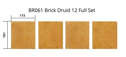 BR061 Brick Druid 12 Full Set