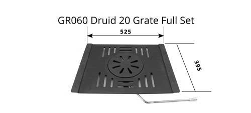 GR060 - Druids 20 - Grate (Full Set)