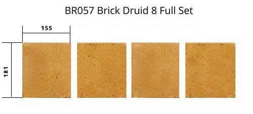 BR057 Brick Druid 8-Full-Set