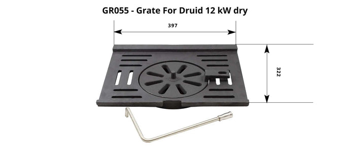 GR055 -  Druid 12 - Grate (Full set)