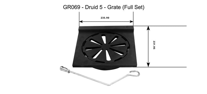 GR069 - Druid 5 - Grate (Full Set)