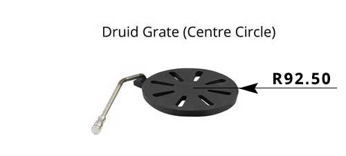 GR002 - Druid 5 - Grate (Centre Circle)