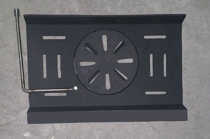 GR046 - Claddagh boiler grate - NEW (with centre circle)