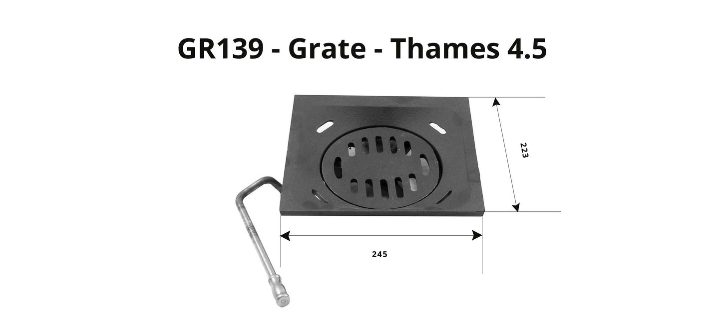GR139 - Thames 4.5 - Grate (Full Set)