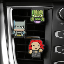 Load image into Gallery viewer, HERO-FRESH - Squad of 3 Uniquely Customized Superhero Air Fresheners