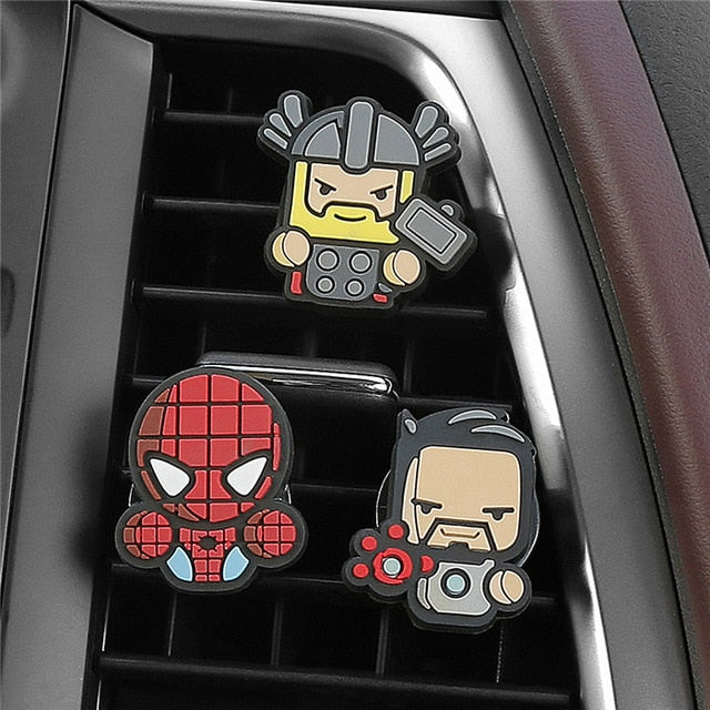 HERO-FRESH - Squad of 3 Uniquely Customized Superhero Air Fresheners