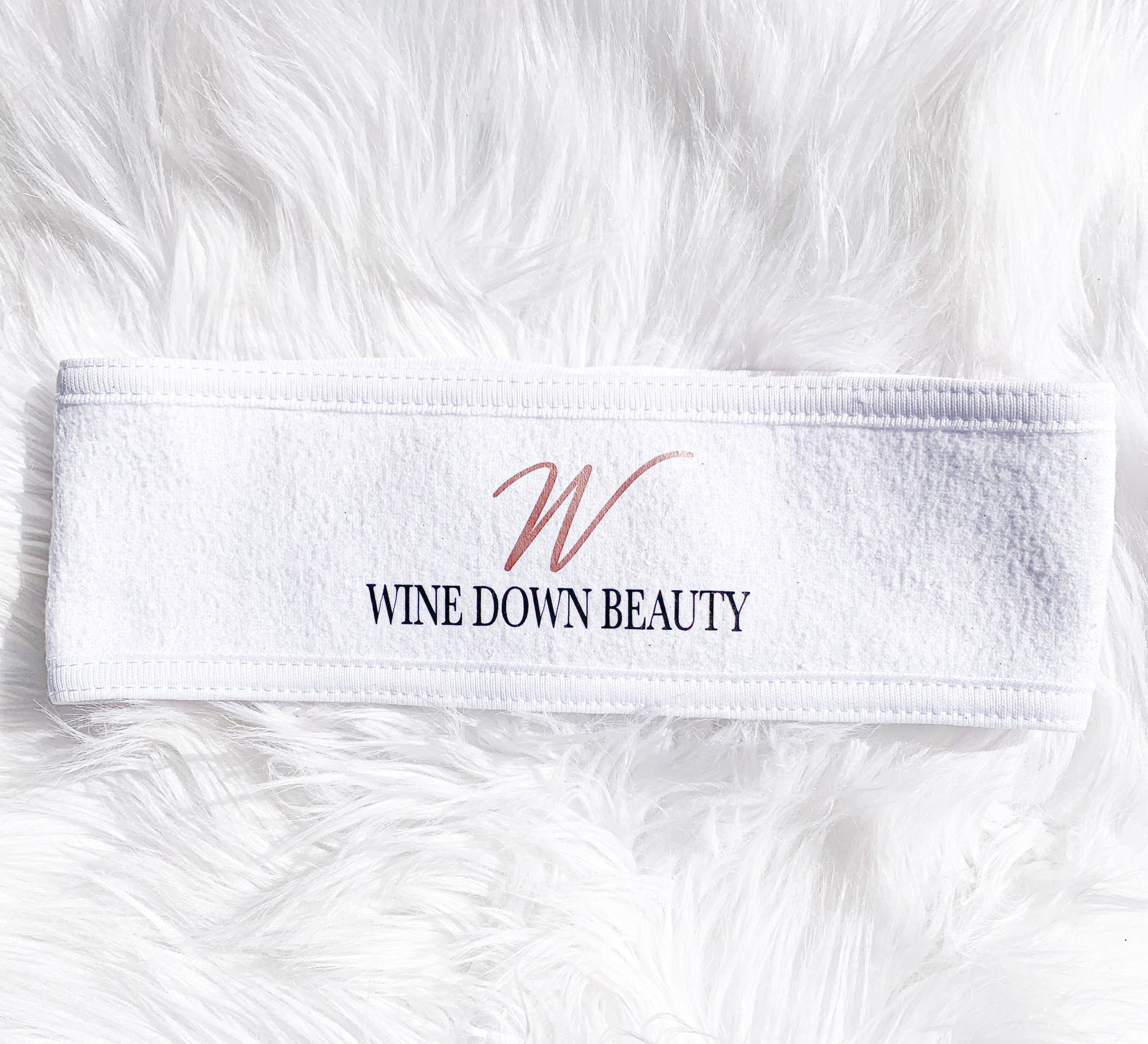 Wine Down Beauty Spa Headband