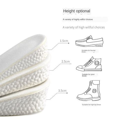 Boost height increase Insoles/insert