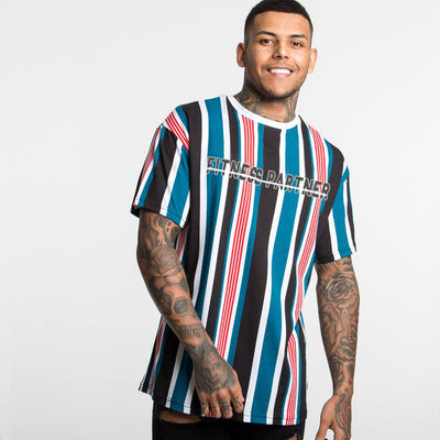 'BASTION' Casual Fit Stripe Shirt - Mens Trendzz