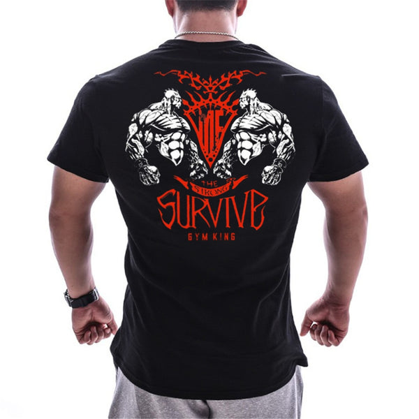 King Gym Crossfit Tee - Mens Trendzz