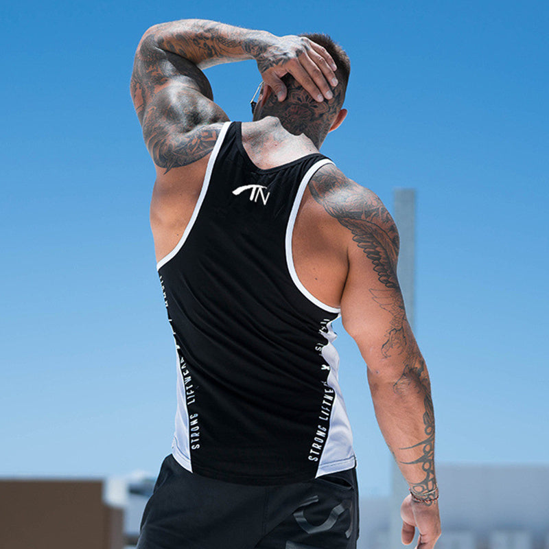 Strong Tight Tank Top - Mens Trendzz