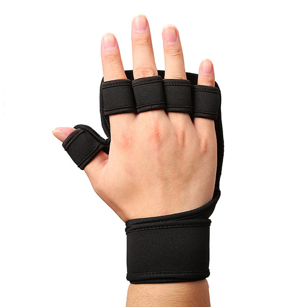 Grant Half Finger Gym Fitness Gloves - Mens Trendzz